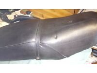Dual seat and leg shields to fit ural soviet Knight motorbike