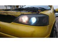 Astra g mk4 headlights xeon