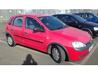 VAUXHALL CORSA 1.2 PETROL MANUAL FULL YEAR MOT EXCELENT CONDITION