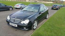 Mercedes C320 SE Auto AMG Edition fully loaded black 2003 Coupe