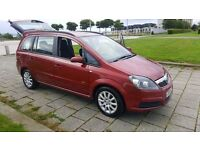 2006 ZAFIRA 7 SEATER VERY LOW MILEAGE 65K ONLY FROM NEW FULL YEAR MOT ALLOYS PLUS NEW PARTS