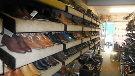 shoe shop fittings, the entire content of a shoe shop fitting,