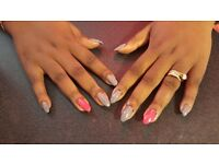 Mobile nail technician, gel nails, nail extensions, pedicure, zone 1-3