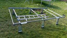 Ford transit hi top Roof rack and door ladder
