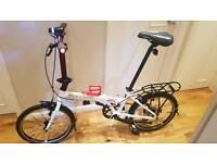 Carrera transport folding bike like Brompton Tern dahon giant
