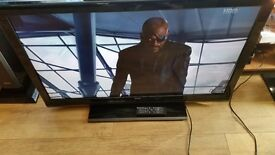 "40"" BUSH FULL HD DIGITAL LCD TV IN V.GOOD FULLY WORKING COND,HDMI,SCART,FREEVIEW,REMOTE ETC"
