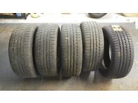 5 Continental 4x4 Winter Contact mud and snow tyres for SUV £250.00