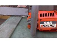 Oleo mac 946 professional chainsaw in very good condition