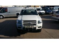 2009 / 09 PLATE Ford Ranger 2.5 TDCi XL Super Cab Pickup 4x4 4dr LOW MILES ONE OWNER NO VAT NO VAT