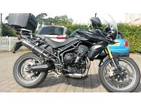 2014/64 Triumph Tiger 800 ABS - showroom condition - warranty and extras - must see