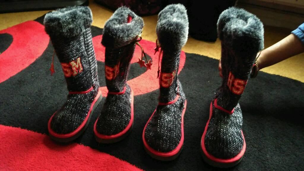 4 High School Musical Boot Slippers