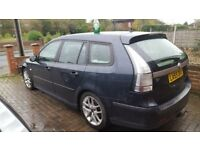saab 9-3 tid sportwagon spares or repair or will brake