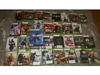 30 TOP XBOX 360 GAME BUNDLE + FREE 39 EMPTY GAME CASES