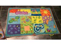 Tiny love super play mat, giant play mat!! As new!! Smoke and pet free house