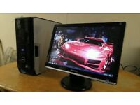 Fast SSD Dell XPS 430 Quad Core Gaming Desktop Computer PC With Dell 21 HD LCD