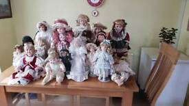 Collection off dolls