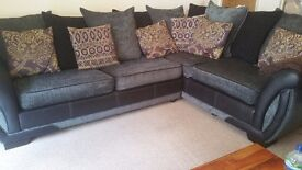 1/11 DFS Shannon Left Hand Facing Corner L Sofa Bed