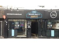 Fast Food Restaurant & Takeaway Pizza, Burgers, Peri Peri and Donner, Running Business for Sale.