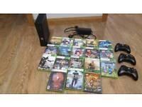 Xbox 360 Console Bundle 18 games