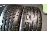 235 45 17 2 x tyres Kumho Ecesta LE Sport