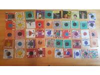50 - Vinyl records.
