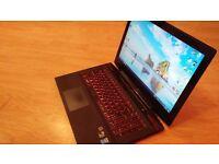 Lenovo idepad y50-70 full hd gamer laptop i5-4210H, gtx860 4gb, 8gb ddr3, 1tb hdd, 720 webcam.