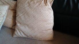 Laura Ashley silk cushions x5