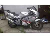 Kawasaki zx6r F3 for sale no MOT (Project Bike)