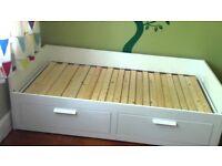 Ikea Brimnes Day bed - No mattress - 6 Months old - 2 Drawers
