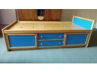 Good quality children's storage bed