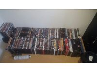 Over 100 movie dvds and box sets £20