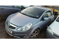 Vauxhall corsa 1.3cdti 2007 reg breaking for parts