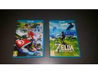 Legend Of Zelda Breath Of The Wild & Mario Kart 8 (Wii U) 2017