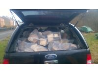 Seasoned Firewood Logs for Sale, Mixed Hardwoods,