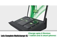 New Leitz XL Multicharger (4 x Devices)- Black
