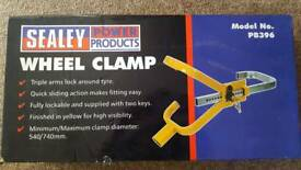 Sealey wheel clamp BRAND NEW in box