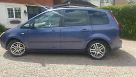 2006 Ford focus C-Max Zetec Auto petrol 2.0 5 door blue 95k miles, alloys, MOT Mar 2019, 2 owners