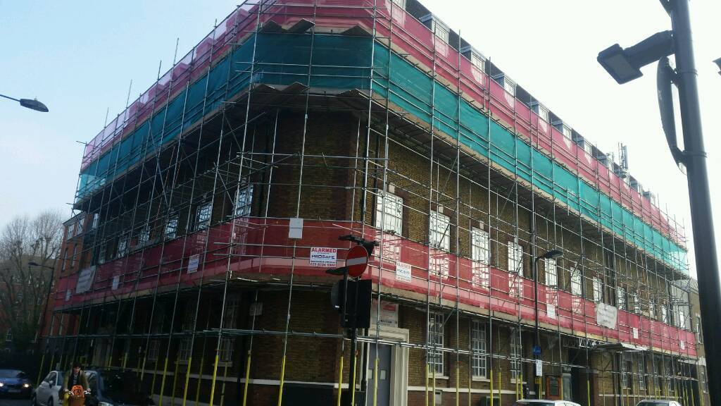 Scaffolding Services covering London and Essex call now for a free estimate