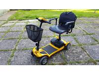 Kymco K-Lite 4mph Mobility Scooter - fold away