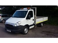 iveco daily 3153s dropside pick up 2012