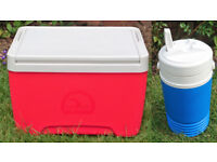 10 litre Coolbox and 1.5 Litre Flask