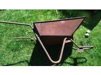 vintage barrow form a wheel barrow for planter or restore