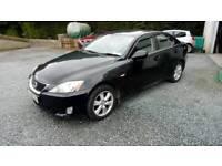 07 Lexus IS220 Diesel 4 DOOR 6 Speed Black great car Can be Seen anytime