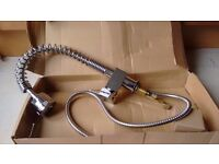Kitchen tap with shower extendable head