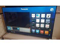 "PANASONIC 65"" Smart ULTRA HD 4K HD TV wWifi,Freeview HD, Netflix,Excellent condition"