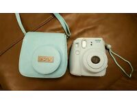 Instax polaroid camera and case, boxed as new