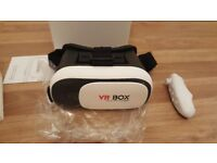 3D VR Box Headset + Remote control