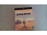 star wars complete saga blu ray collection (all 6 films)