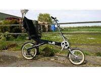 BikeE recumbent bicycle