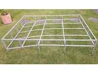 Galvanised Roof Rack & Ladder Landrover Series 3
